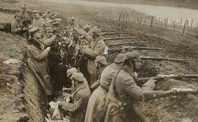 inicio de la guerra de las trincheras
