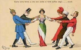 Italia cambia de bando
