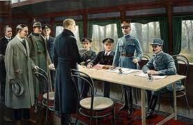 Fin de la primera guerra mundial (capitulación de Alemania)