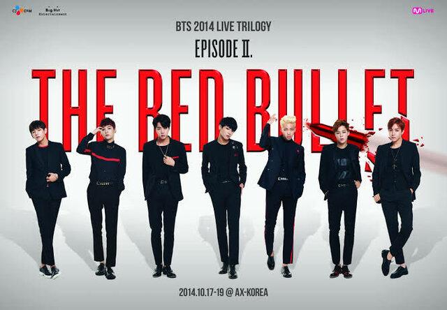 BTS Live Trilogy Episode II: The Red Bullet-Primer concierto