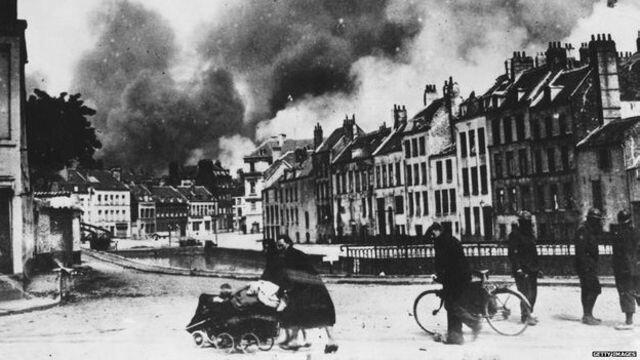 Invasión de Bélgica y los Países Bajos