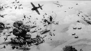 Batallas del Coral y Midway