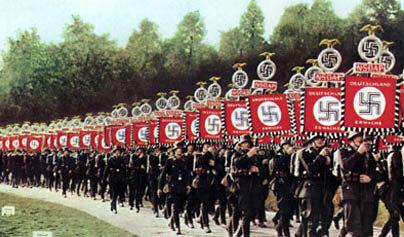 Partido nazi gana las elecciones.