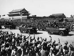 Triunfo del comunismo en china