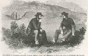 Confederates surrender at Vicksburg
