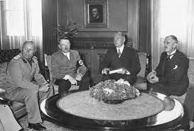 Pacto de Munich.