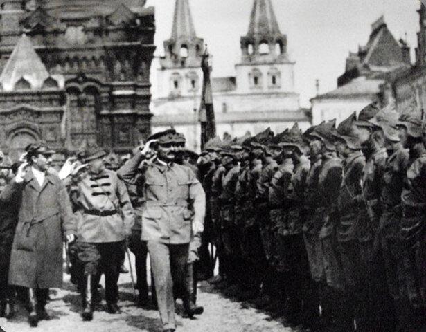 Començament de la Guerra Civil Russa
