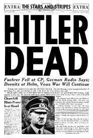 Muerte de Adolf Hitler.