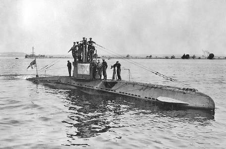 Submarinos.