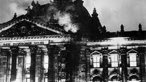 incendio del edificio reichstag