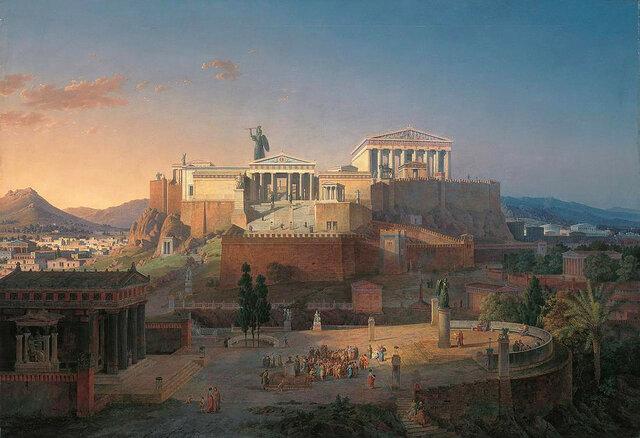 Reforma de Clístenes. Modelo democrático de Atenas.