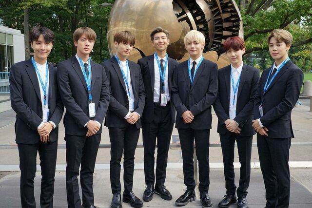 BTS discurso en la ONU