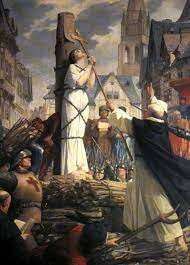Exécution de Jeanne d'Arc à Rouen