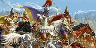 Los macedonios dominan Grecia.