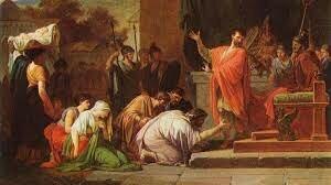 Grecia es conquistada por Roma y convertida en provincia romana. Fin de la Grecia clásica.