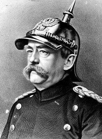 Renuncia del canciller de Alemania Otto von Bismark