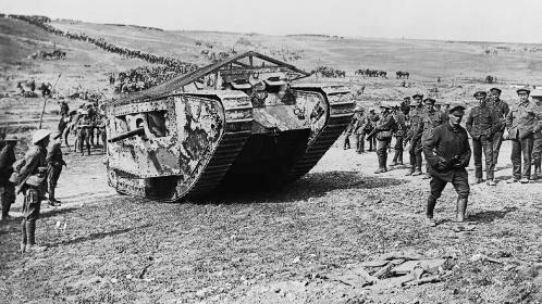 Inicio de batalla del Somme