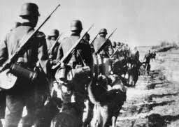 los alemanes cruzaron a Francia
