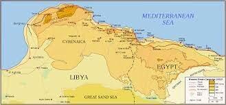 las fuerzas  italianas cruzan la frontera con Egipto