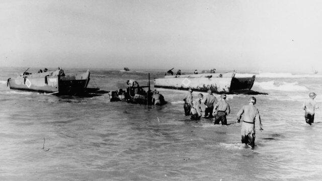 Desembarco aliado en Sicilia y el sur de Italia