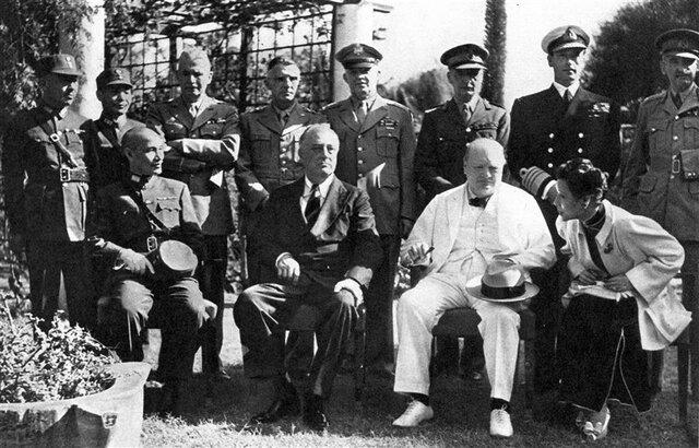 Conferencia de Teherín (Roosevelt, Churchill, Stalin)