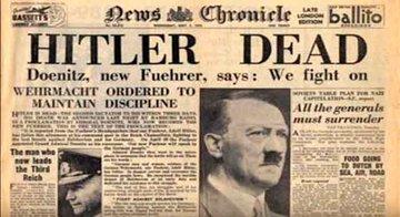 Con las tropas soviéticas en las afueras de Berlín, Hitler se suicida