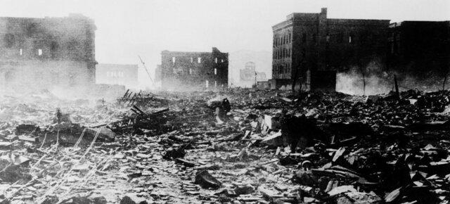 Lanzamiento de la primera bomba atómica en Hiroshima
