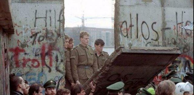 Caída del muro de Berlín fecha