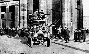Inicio de la Revolución Alemana