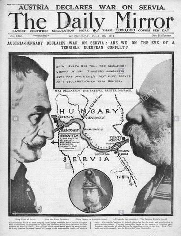 Astro Hungría declara la guerra
