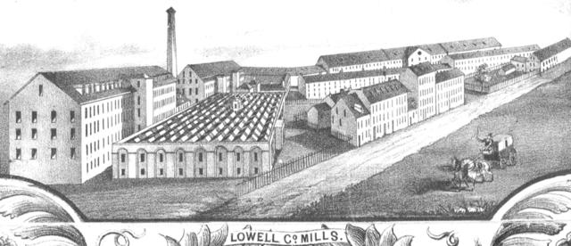 La manufacture au Massachusetts