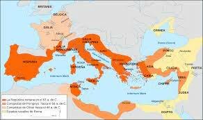 avance hacia roma