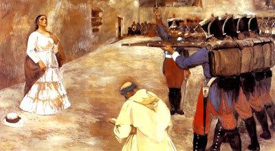 Fusilamiento de María Parado de Bellido