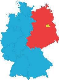 la partida de Alemania en dos