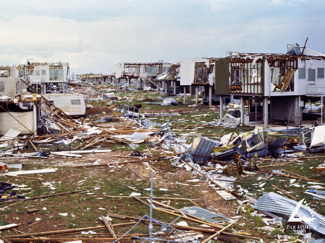 Cyclone Tracy Hits