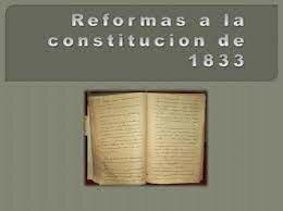 La primera reforma administrativa en 1833