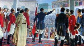 Camino hacia la Independencia del Perú timeline