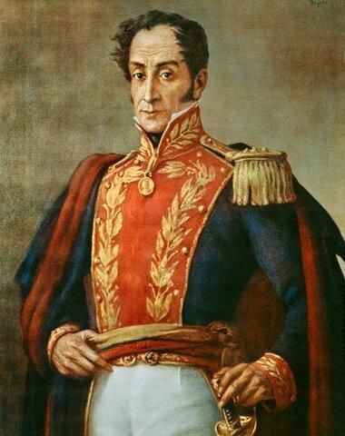 Bolívar se retira del Perú