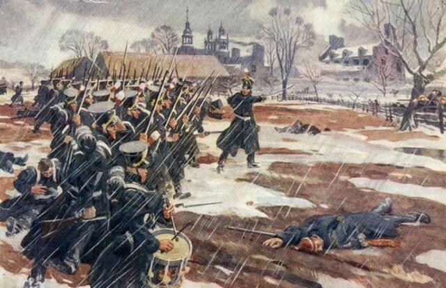 La bataille de St-Denis