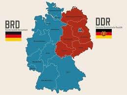 constitución de las 2 Alemanias