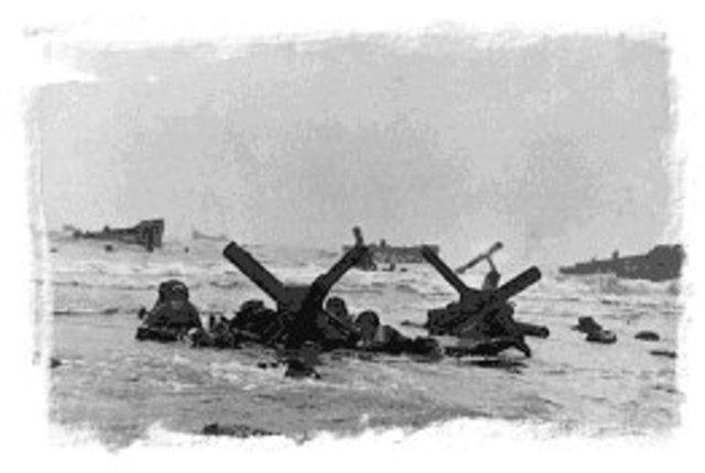 Desembarco en Normandía.