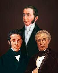 Pedro Vélez, Lucas Alamán y Luis Quintanar (Supremo Poder Ejecutivo)