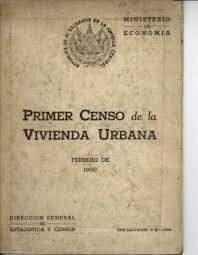VI CENSO POBLACIÓN, I AGROPECUARIO y I de VIVIENDA