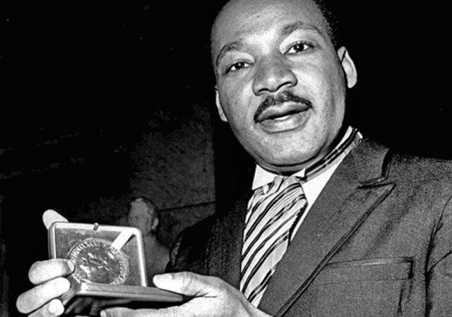 Premi Noble de la Pau a Martin Luther King