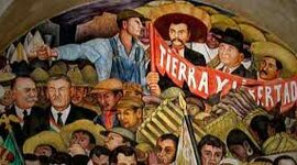 REVOLUCION MEXICANA timeline