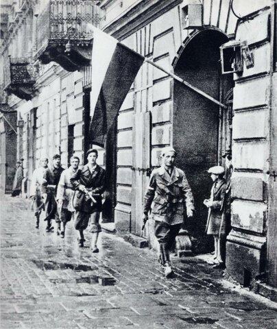 Alzamiento de Varsovia (Polonia)