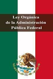 Ley orgánica de la administración publica