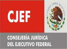 Creación de la consejería jurídica del ejecutivo federal