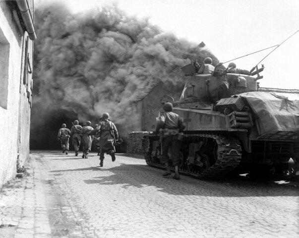Invasión de los Aliados occidentales de Alemania