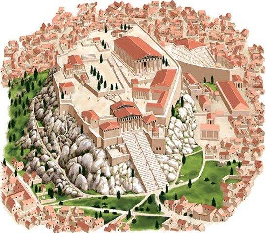 ANTIGÜEDAD GRECOLATINA (500 A.C.-400 D.C.)